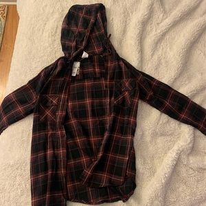 Tillys Hooded Flannel